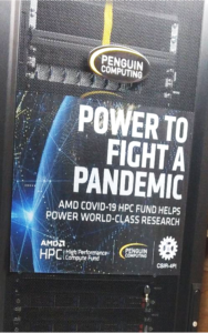 AMD 向法国组织捐赠Neowise 超级计算机集群,用于COVID-19研究